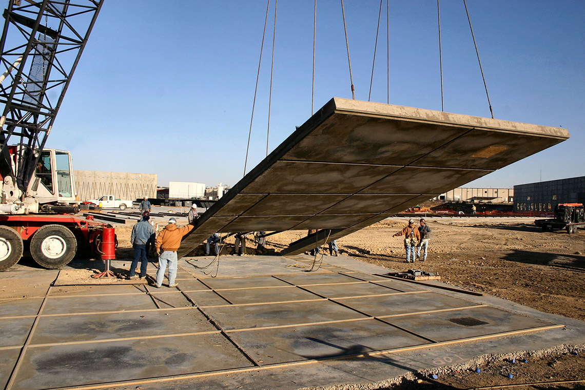 Tilt Up Construction Process