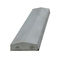 7″ Saddle Back Concrete Wall Caps